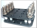 Custom 16 Hole Spark Plug Rack Holder (SPH01)